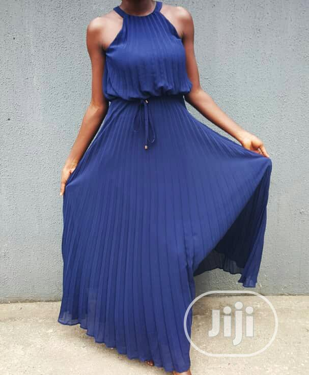 F F Tesco Blue Dress
