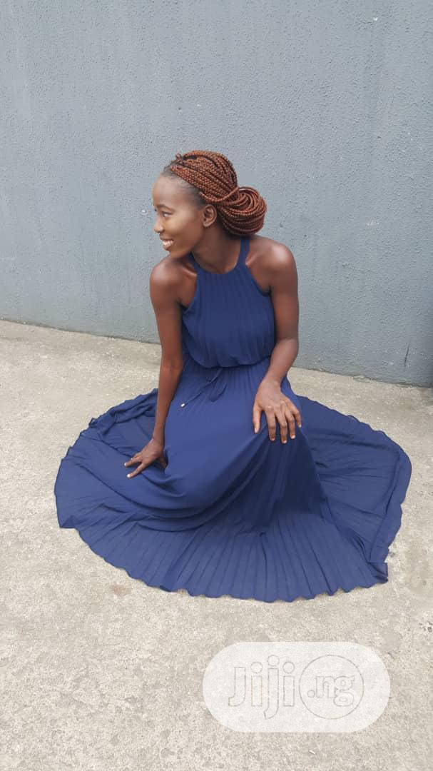F F Tesco Blue Dress   Clothing for sale in Ikeja, Lagos State, Nigeria