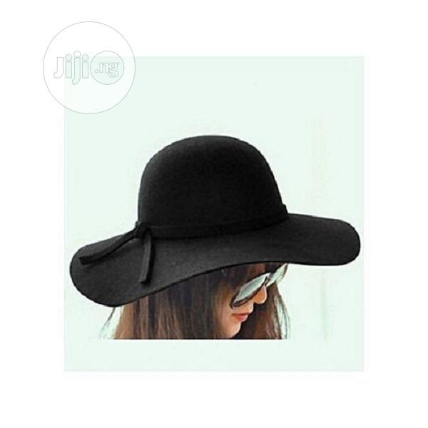 Archive: Ladies Beach Hat Black