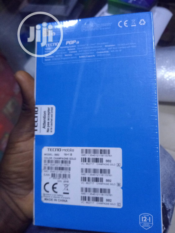New Tecno Pop 3 16 GB Black   Mobile Phones for sale in Ikeja, Lagos State, Nigeria