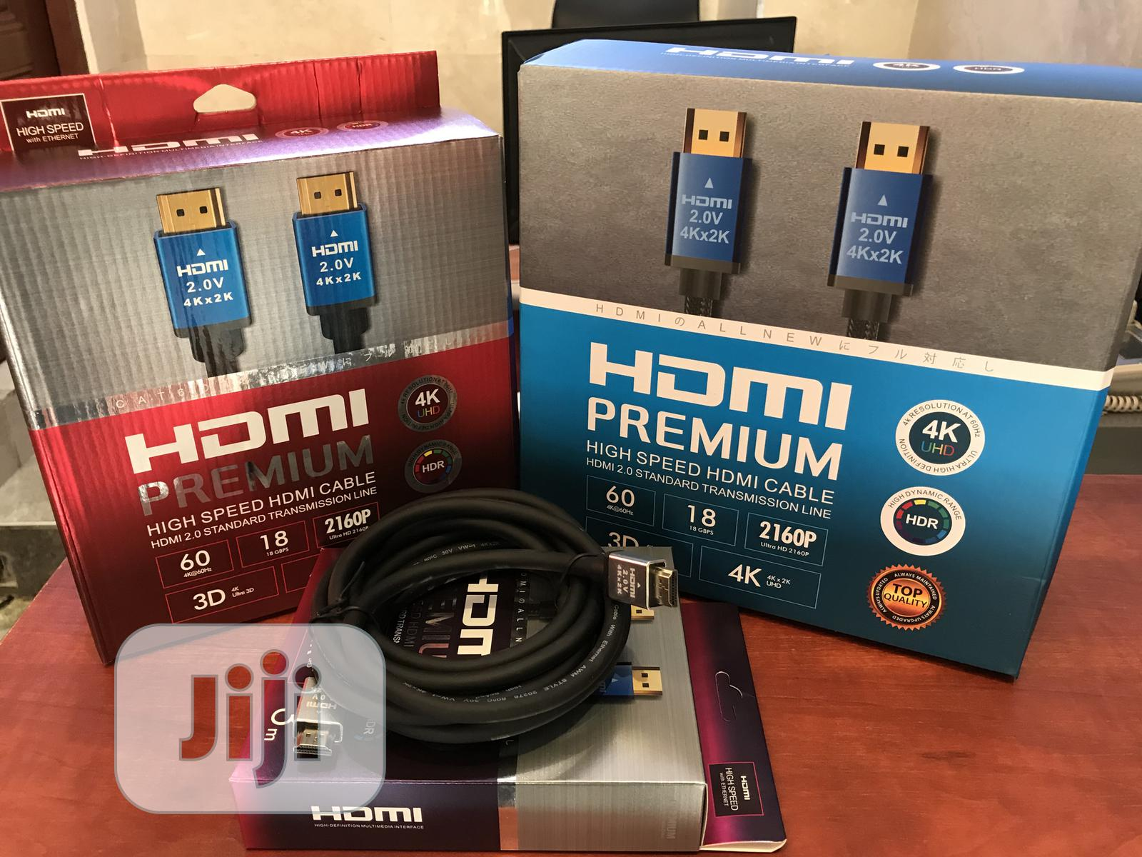 HDMI Cable | Accessories & Supplies for Electronics for sale in Ojo, Lagos State, Nigeria