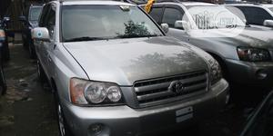 Toyota Highlander 2004 Limited V6 4x4 Silver | Cars for sale in Lagos State, Apapa