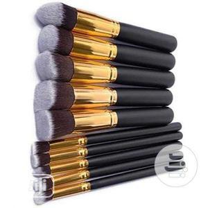 10 in 1 Set Kabuki Brushes   Makeup for sale in Lagos State, Ikeja