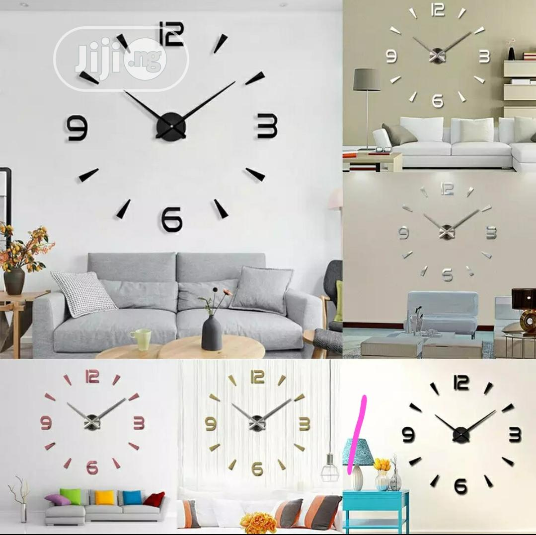 Big DIY Wall Clock