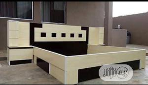 Wooden Bed Frame With Side Drawers | Furniture for sale in Lagos State, Ikotun/Igando