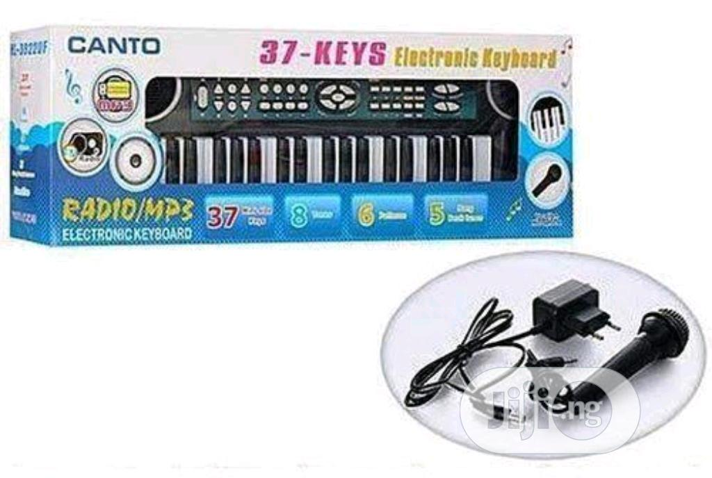 37-keys Musical Keyboard For Kids With AC/DC Adapter & Mic