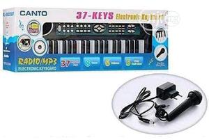 37-keys Musical Keyboard For Kids With AC/DC Adapter & Mic   Toys for sale in Lagos State, Amuwo-Odofin