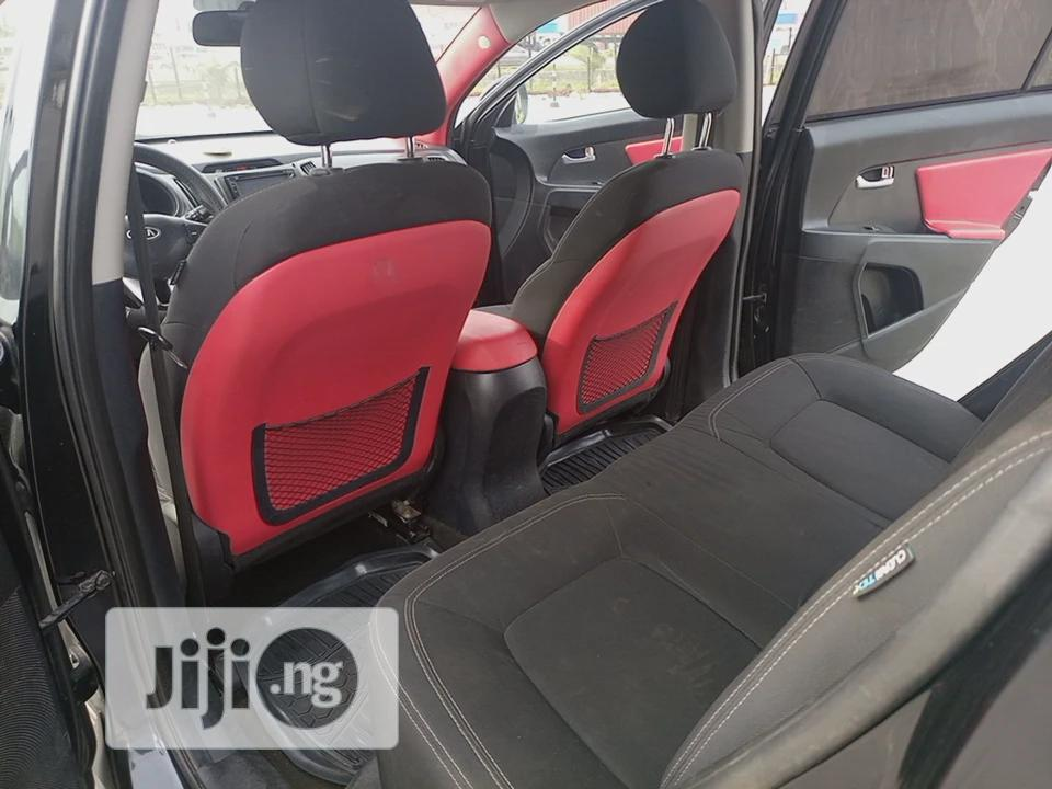 Archive: Kia Sportage 2012 Black
