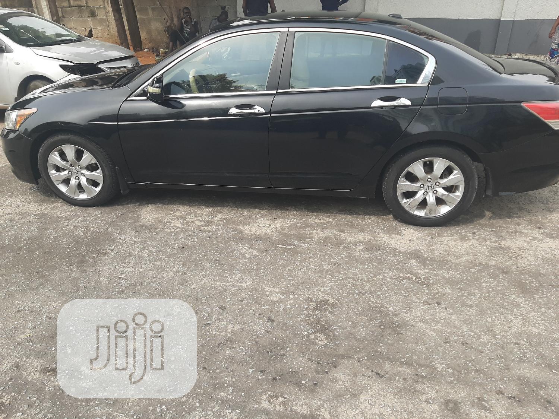 Honda Accord 2008 Black | Cars for sale in Victoria Island, Lagos State, Nigeria