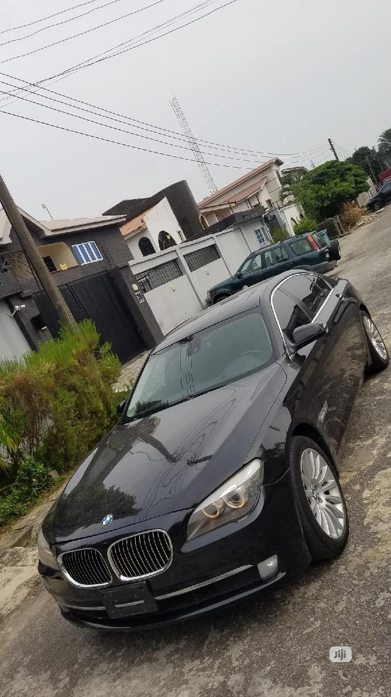 BMW 7 Series 2011 Black