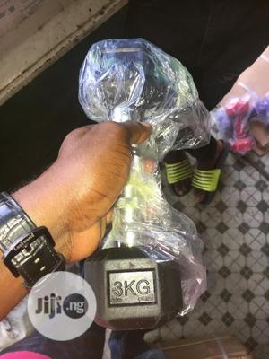 Premium Quality 3kg Hexa-dumbell | Sports Equipment for sale in Rivers State, Bonny