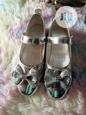 Baby Girls Shoes Silver Size 35   Children's Shoes for sale in Lagos State, Lagos Island (Eko)