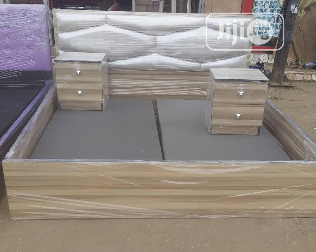 Beautiful Bed Frame With Two Side Drawer