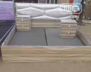 Beautiful Bed Frame With Two Side Drawer | Furniture for sale in Lagos State, Oshodi