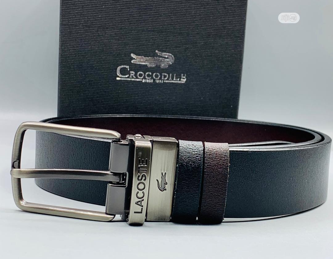 Lacoste Leather Belt for Men's