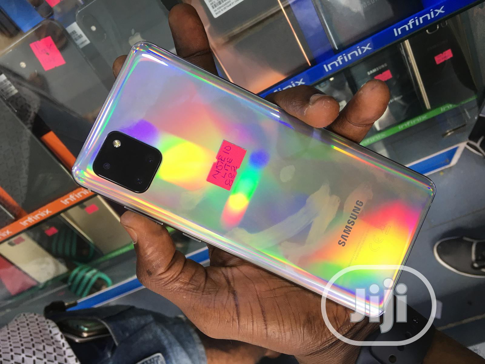 Samsung Galaxy Note 10 Lite 128 GB White | Mobile Phones for sale in Ikeja, Lagos State, Nigeria