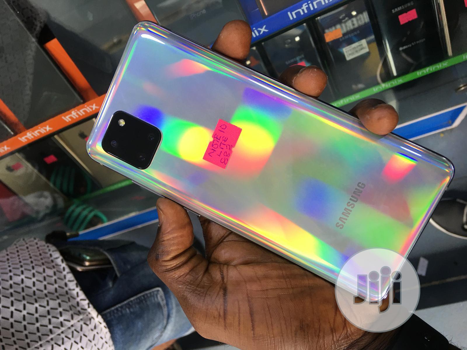 Samsung Galaxy Note 10 Lite 128 GB White