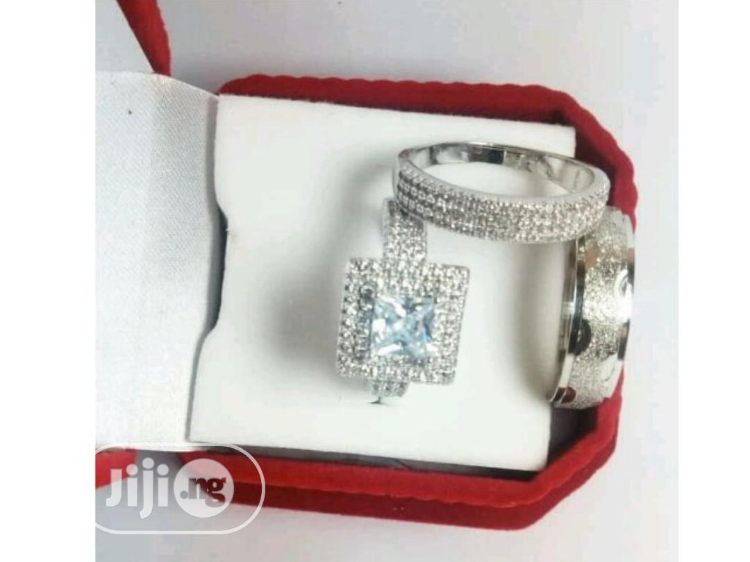Unique Silver Wedding Ring