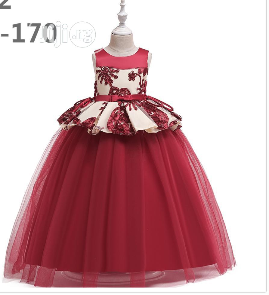 Children Ball Gown Sizes 7 to 14 Years