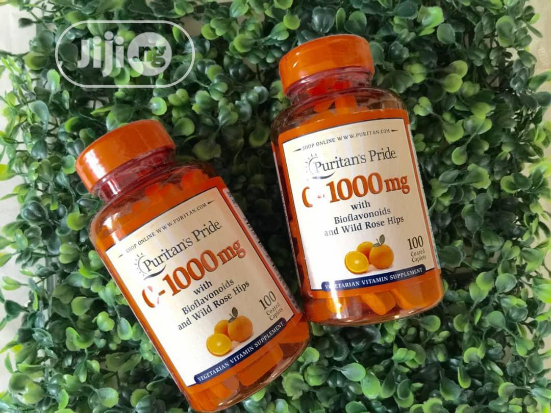 Puritans Pride Vitamin C 1000mg | Vitamins & Supplements for sale in Enugu / Enugu, Enugu State, Nigeria