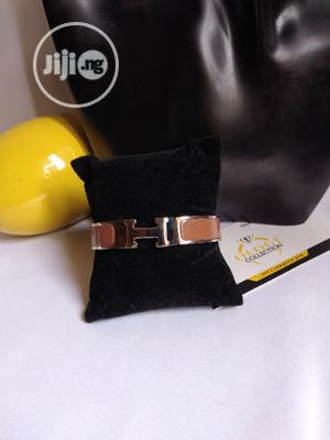 Brown Hermes Leather Bangle   Jewelry for sale in Lagos State, Agboyi/Ketu