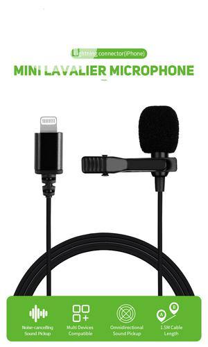 iPhone Lapel Lavalier Microphone   Audio & Music Equipment for sale in Lagos State, Ikeja