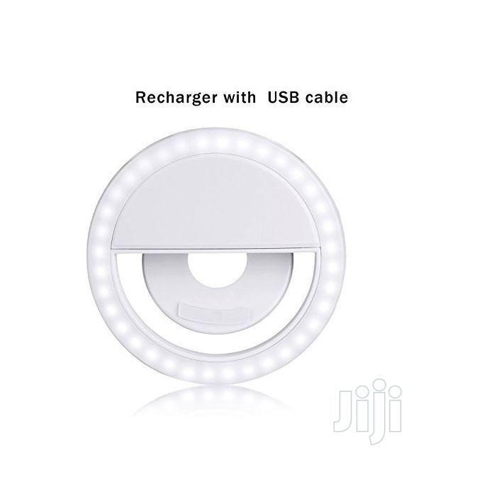 Rechargable Cellphone LED Mini Selfie Ring Light | Home Accessories for sale in Lagos Island (Eko), Lagos State, Nigeria