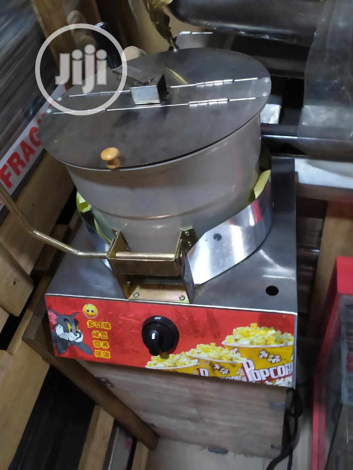 Gas Popcorn Machine Strong And Durable