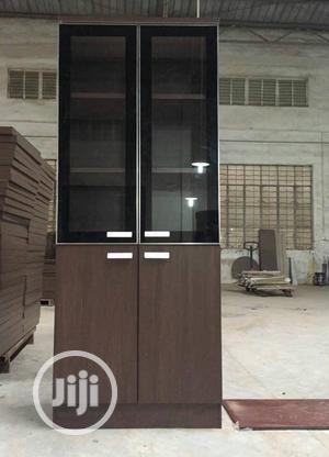 Brown Wooden Cabinet | Furniture for sale in Lagos State, Ojo