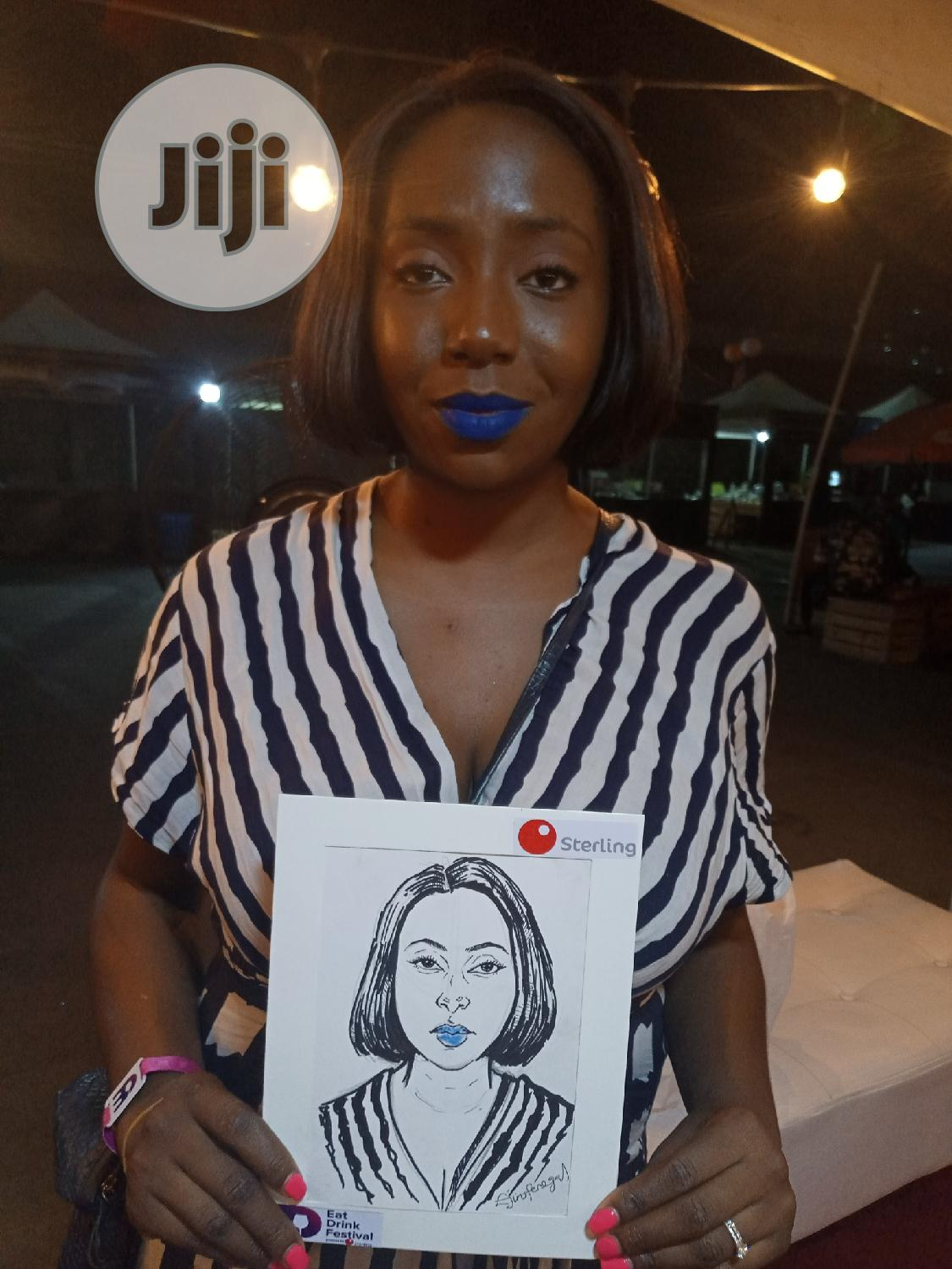 Live Caricature Drawing