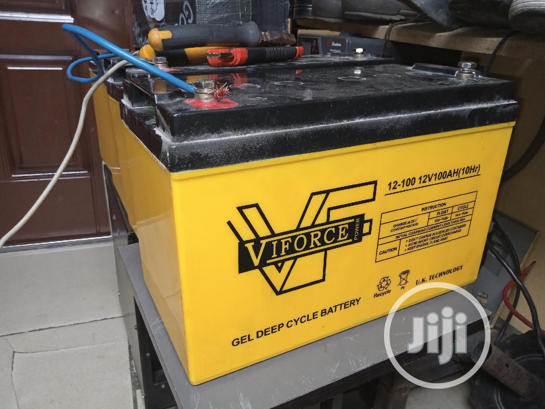 Archive: V Force 100ah Batteries.