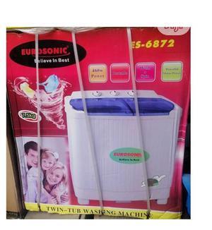 Eurosonic 7.5 Kg Twin Tube Washing Machine Es6872 (White) | Home Appliances for sale in Lagos State, Lagos Island (Eko)