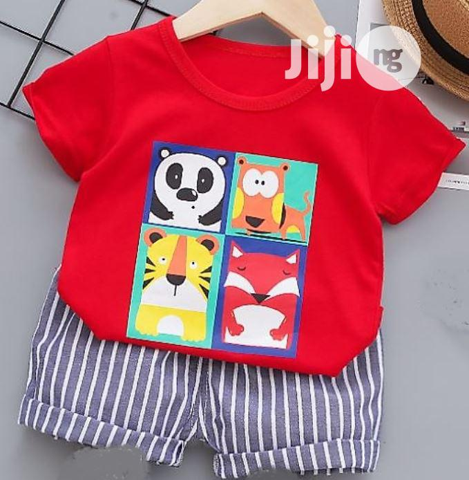 Archive: Baby T-Shirt and Short Set for 6-24months