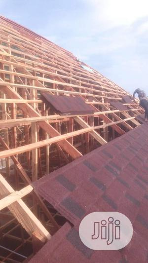 Quality Stone Tiles Roofing   Building & Trades Services for sale in Ogun State, Ifo