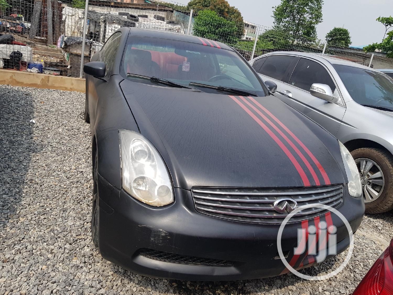 Archive Infiniti G35 Coupe 2005 Black In Yaba Cars Ea Princewill Jiji Ng