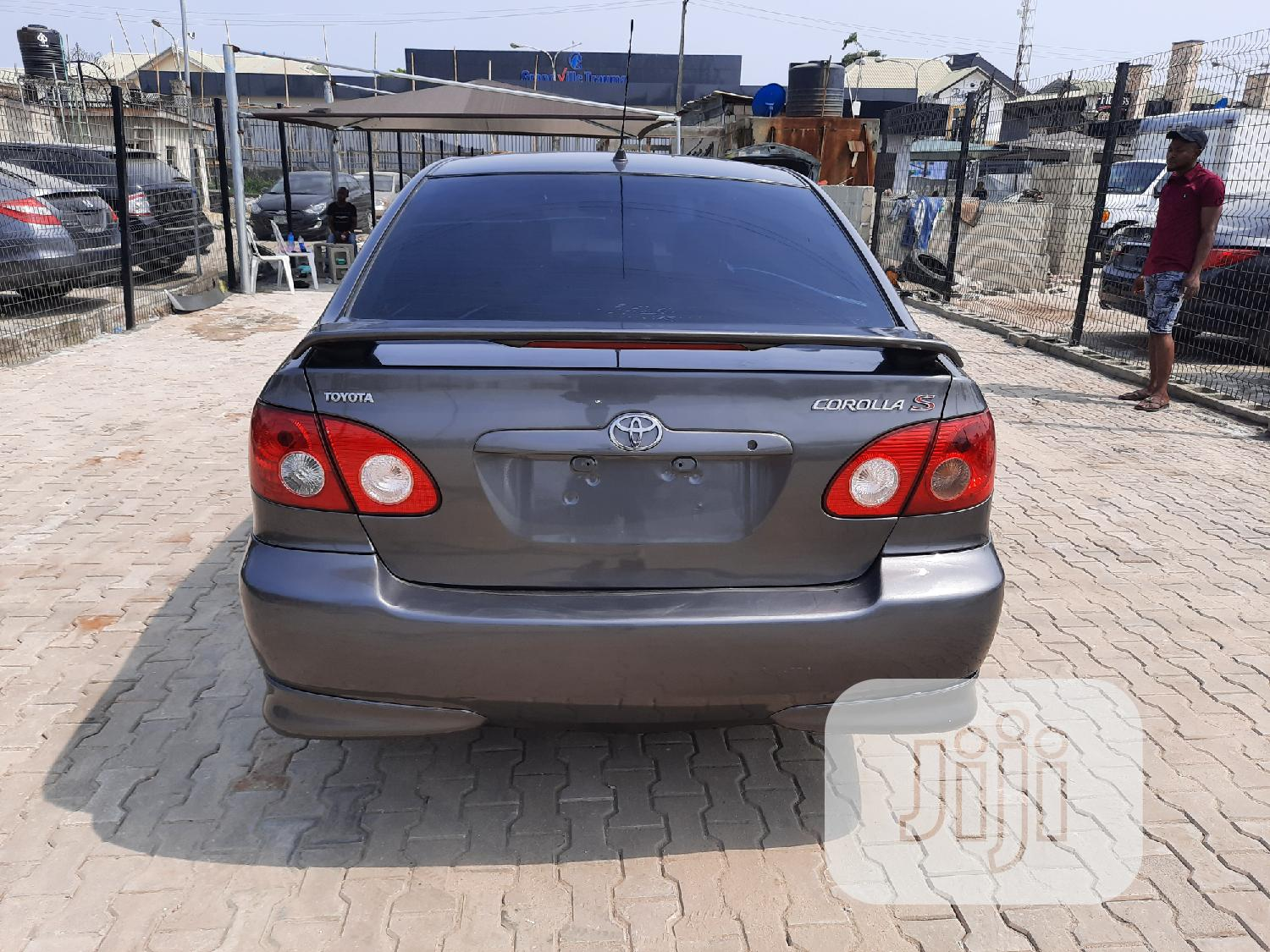 Toyota Corolla S 2007 Gray | Cars for sale in Ajah, Lagos State, Nigeria