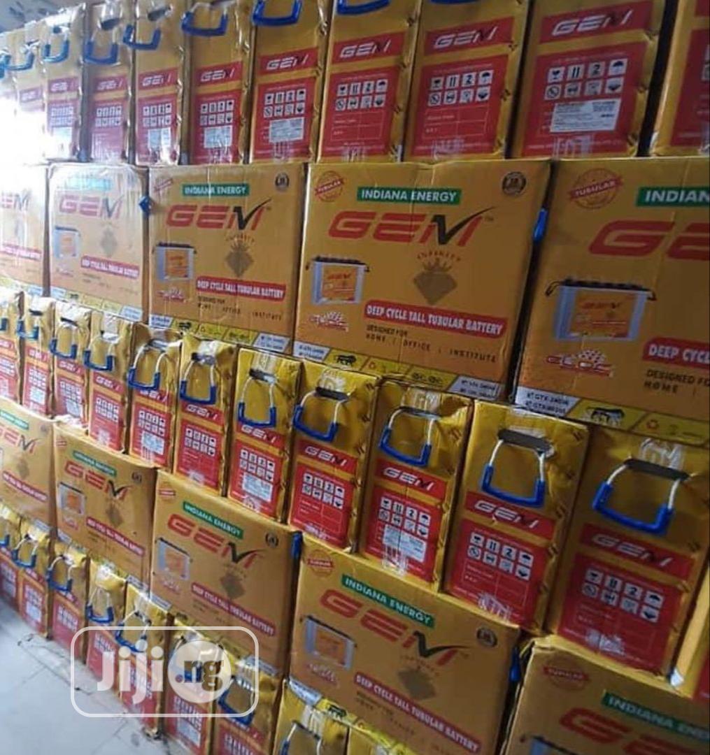 Archive: GEM Indian 220ah 12v Tubular Battery