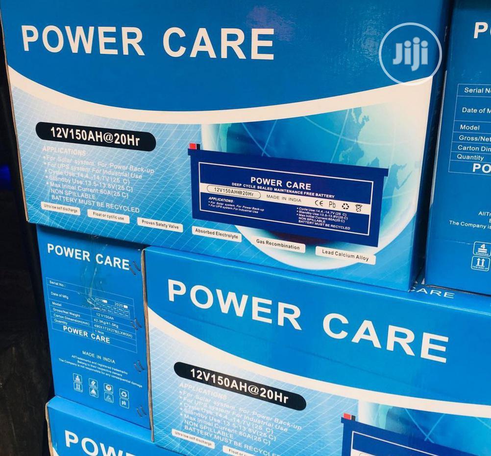 Archive: Power Care 150ah 12v Battery
