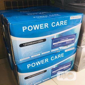 Power Care 200ah 12v Battery | Solar Energy for sale in Lagos State, Ojo