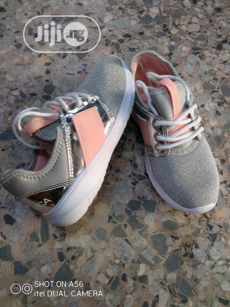 Archive: Ash and Pink Nautica Sneakers for Girls