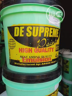100% Authentic Water Based Emulsion Paint De Supreme   Building Materials for sale in Lagos State, Apapa