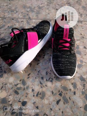 Black and Fuschia Pink Nautica Sneakers | Children's Shoes for sale in Lagos State, Lagos Island (Eko)