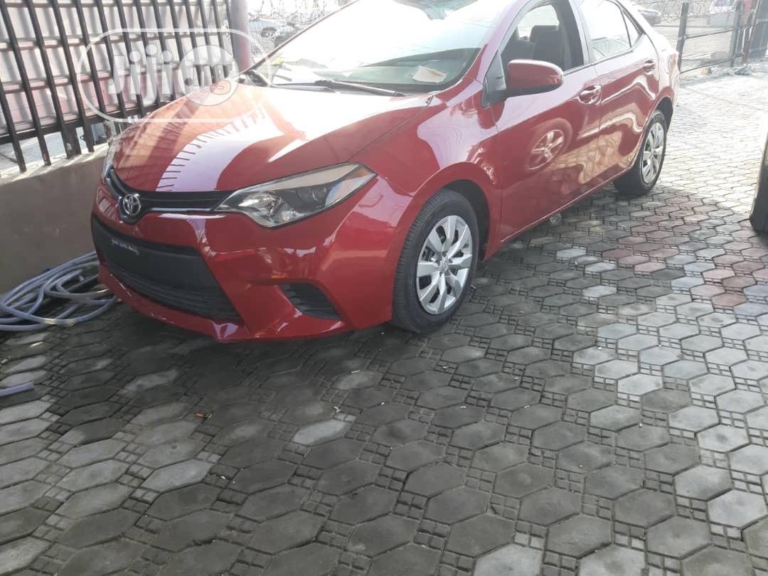 Toyota Corolla 2015 Red | Cars for sale in Ajah, Lagos State, Nigeria