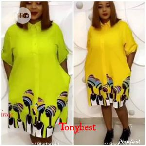 Ladies Shirt Dress   Clothing for sale in Lagos State, Ajah