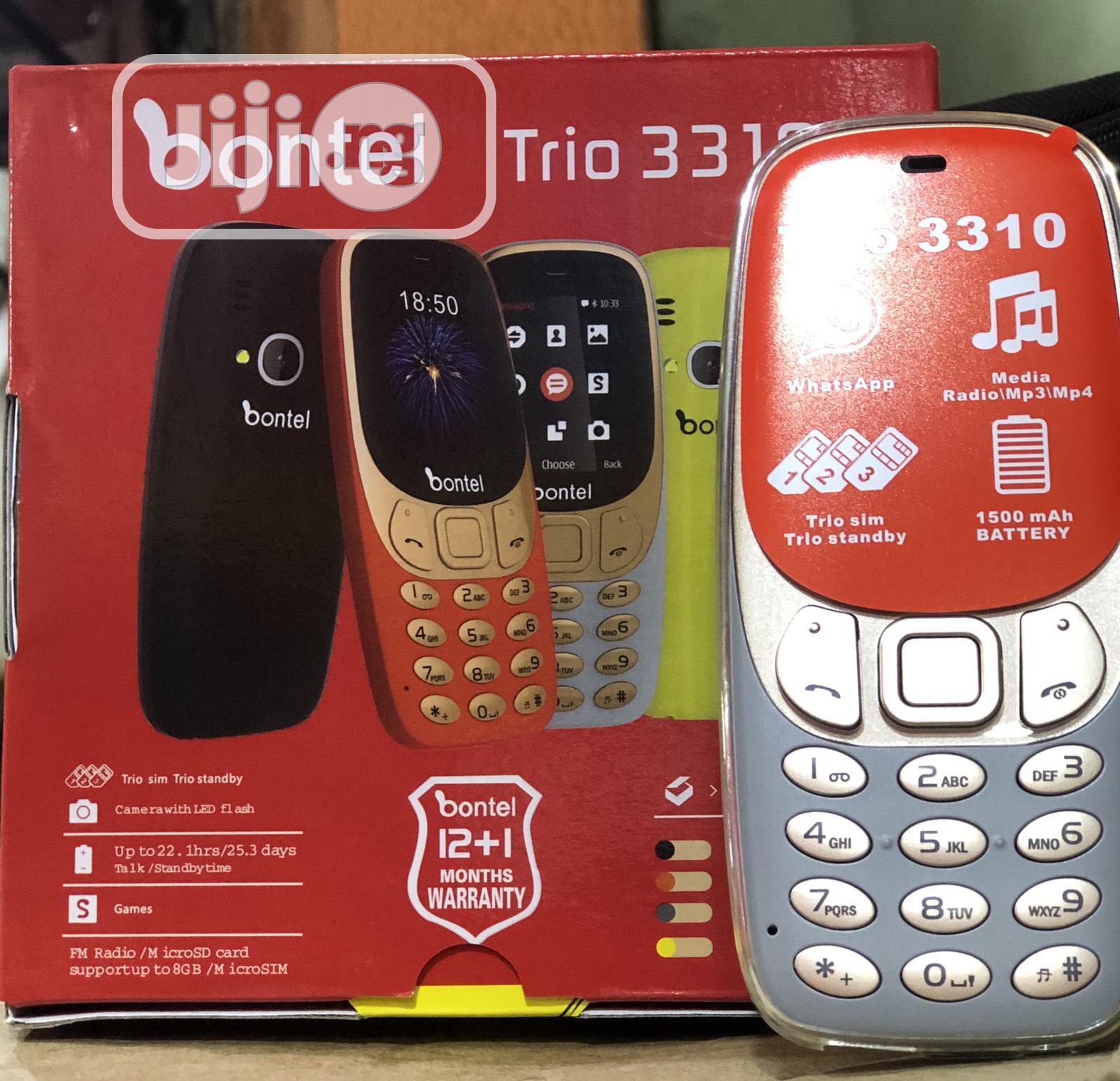 New Bontel 3310 8 GB Silver