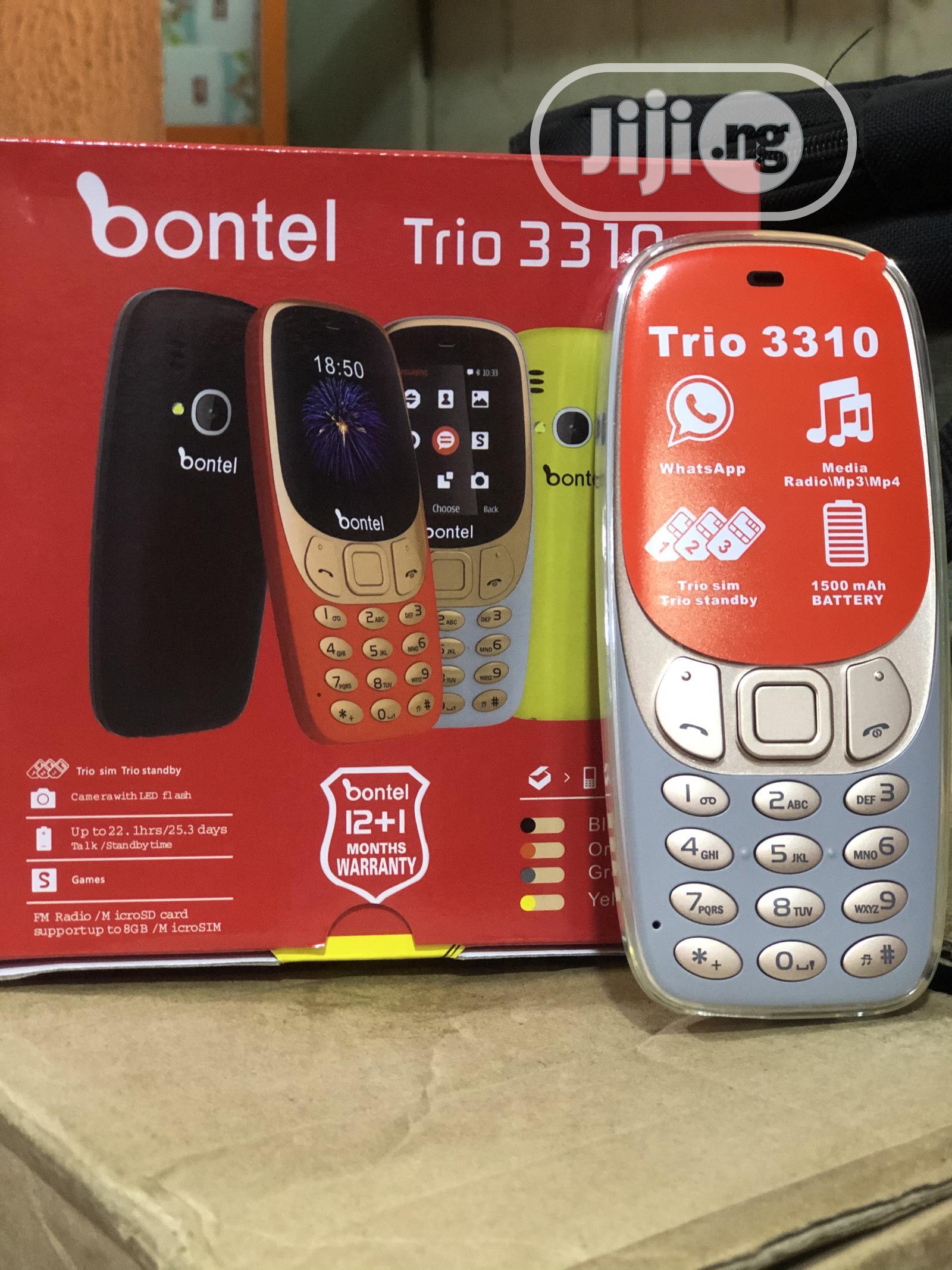 New Bontel 3310 8 GB Silver | Mobile Phones for sale in Ikeja, Lagos State, Nigeria