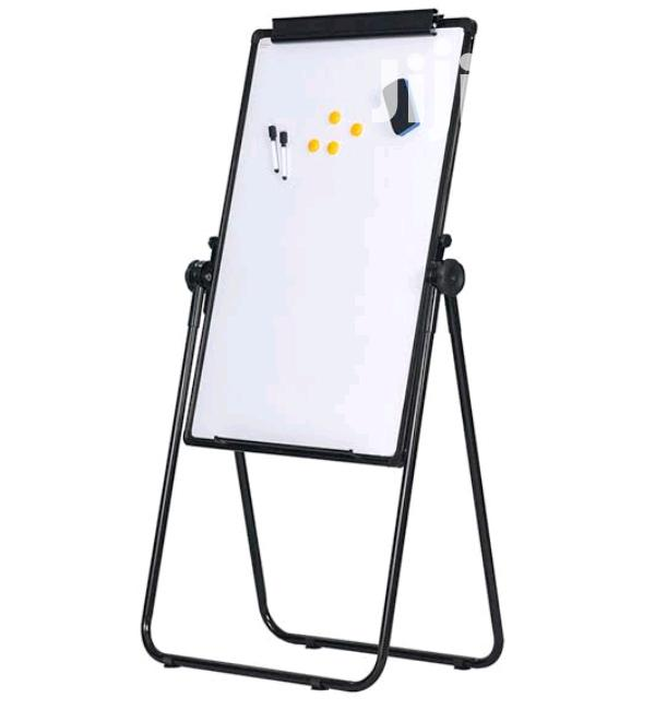 Easel Whiteboard U-stand Magnetic Dry Erase Board Office Sch