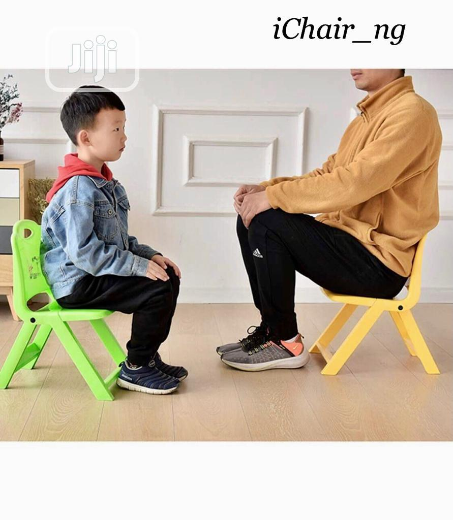 Foldable Plastic Chair for Kids