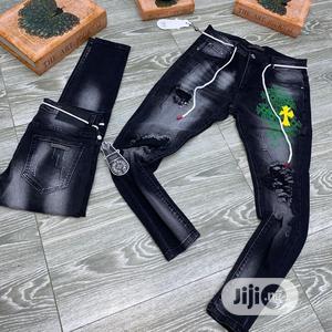Original Chrome Heart Jeans | Clothing for sale in Lagos State, Lagos Island (Eko)