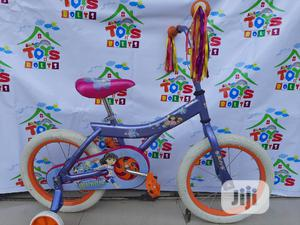 Children Bicycle Size 16 Dora Theme Bike | Toys for sale in Lagos State, Ikeja
